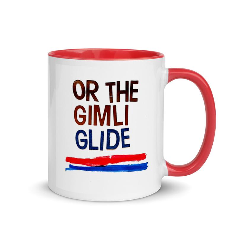 Reykjavik Shuffle (or Gimli Glide) Mug with Color Inside