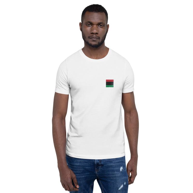 BLACK ALUBM COVER Pocket Print Short-Sleeve Unisex T-Shirt
