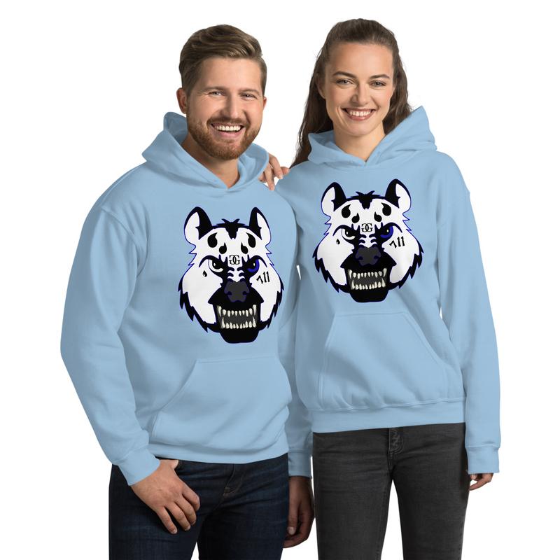 Hyena Gang Blue Unisex Hoodie