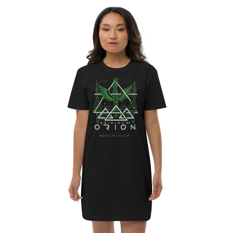 Wage Peace Sacrifice Green Organic cotton t-shirt dress