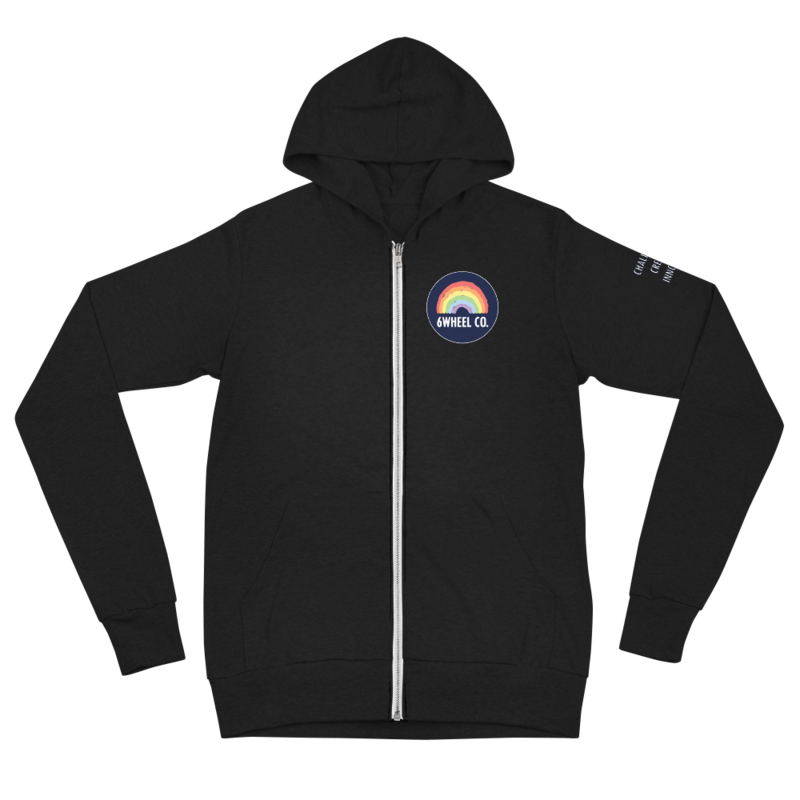 Unisex zip hoodie 6Wheel CO