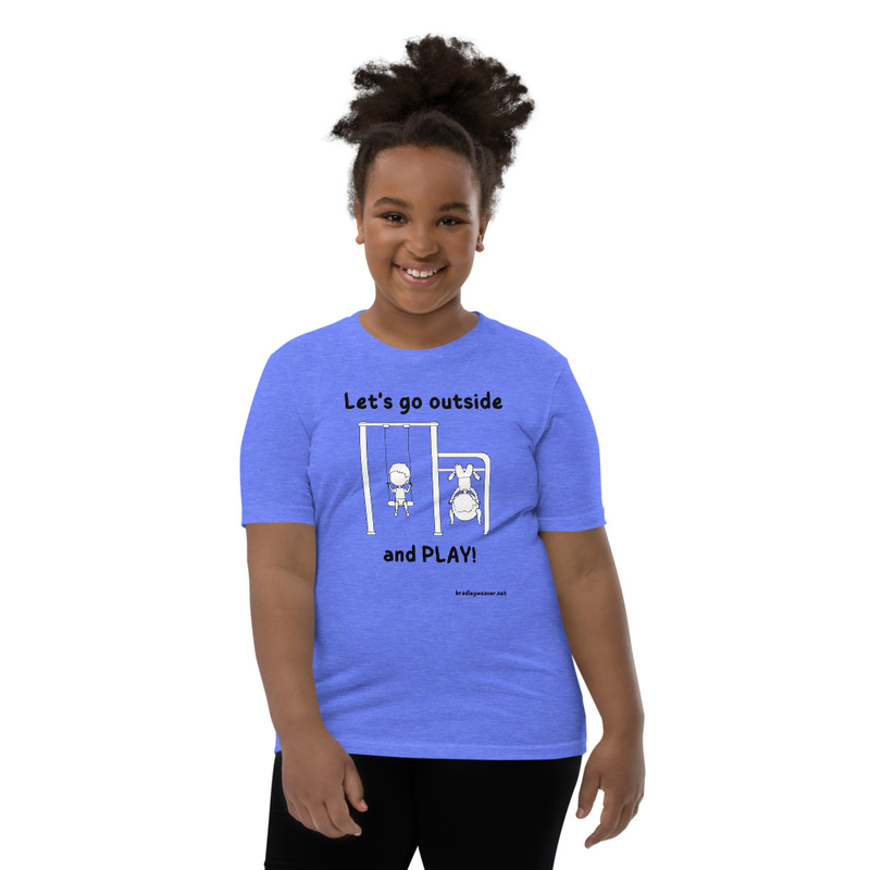 Let's Go Outside and Play- Youth T-Shirt