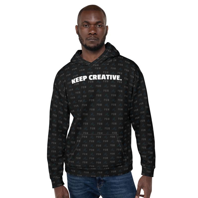 Keep Creative Designer Hoodie (Unisex)