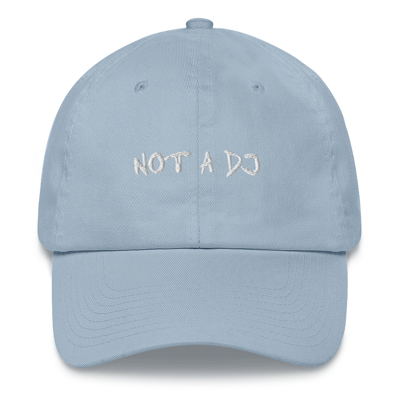 "Casquette/Cap ""NOT A DJ"" (7 colors)"