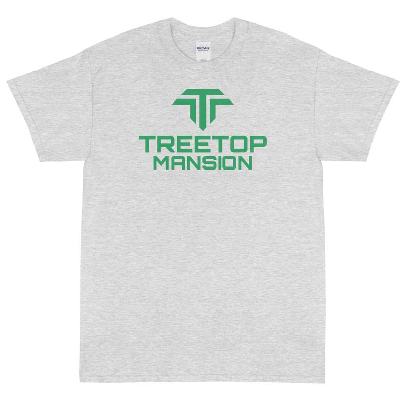 Unisex Short Sleeve T-Shirt - Green TM Logo