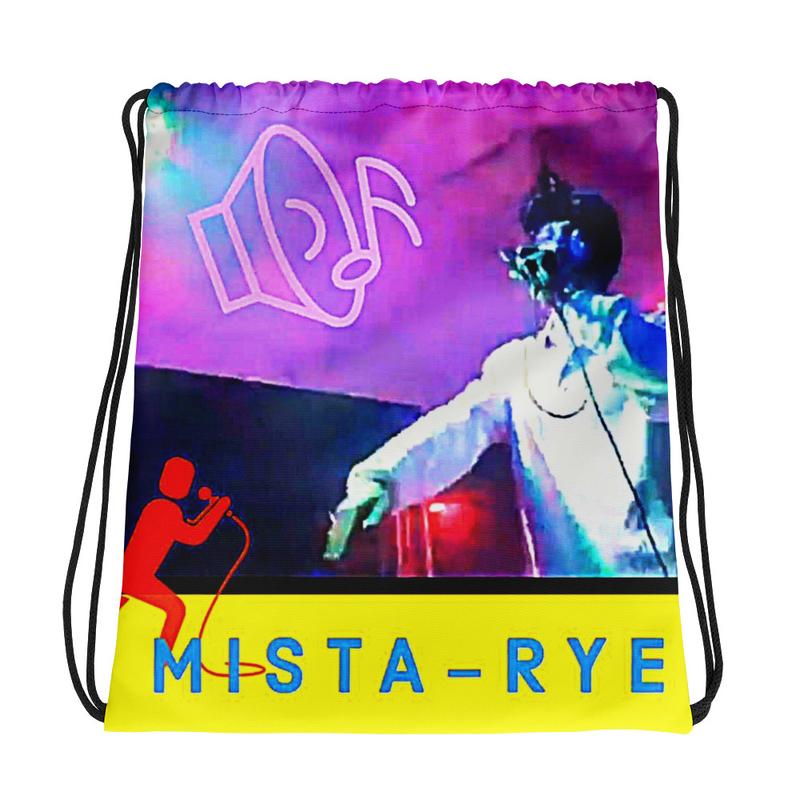 Drawstring bag - Mista on the MIC