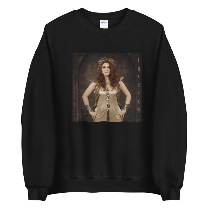 ALONE poster sweatshirt (UNISEX)