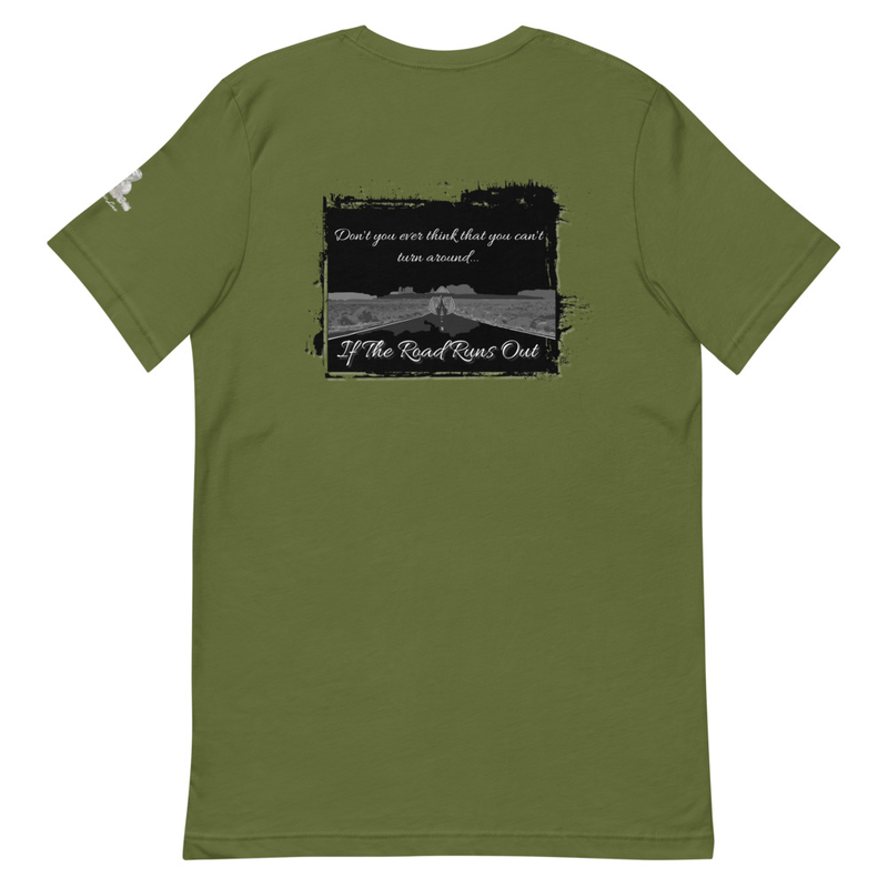 """If The Road Runs Out"" - TW Lyric Line T-shirt"