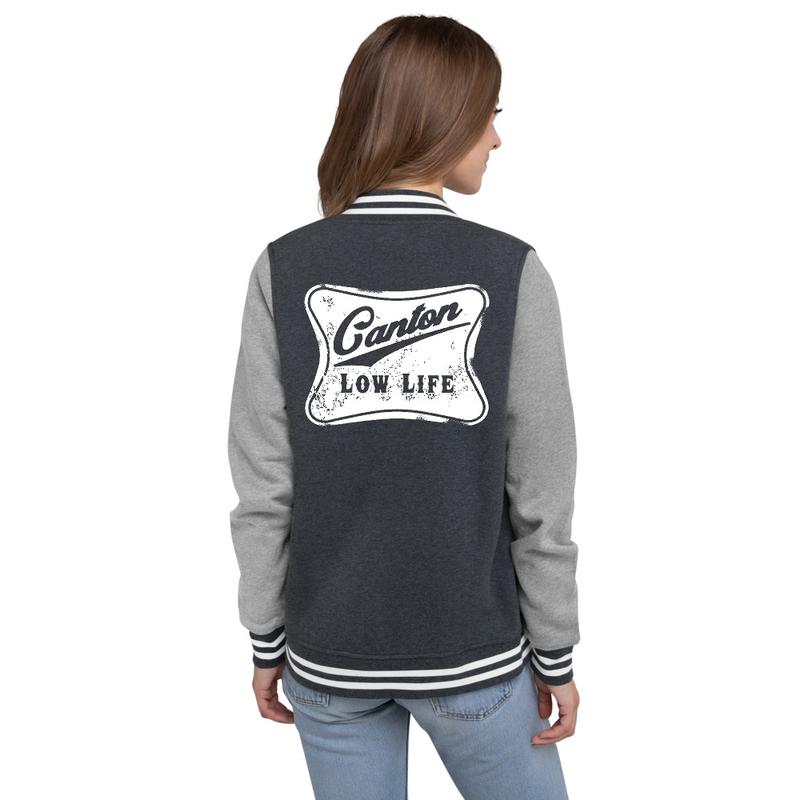 Canton Low Life Women's Letterman Jacket