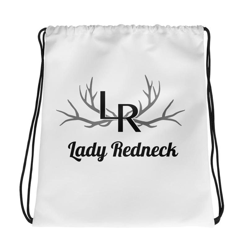 Lady Redneck Drawstring Bag