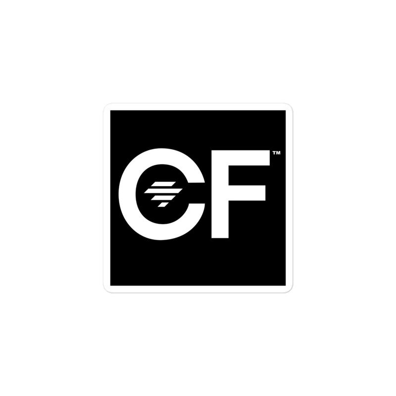 CF (With Diamond) Sticker product image (1)