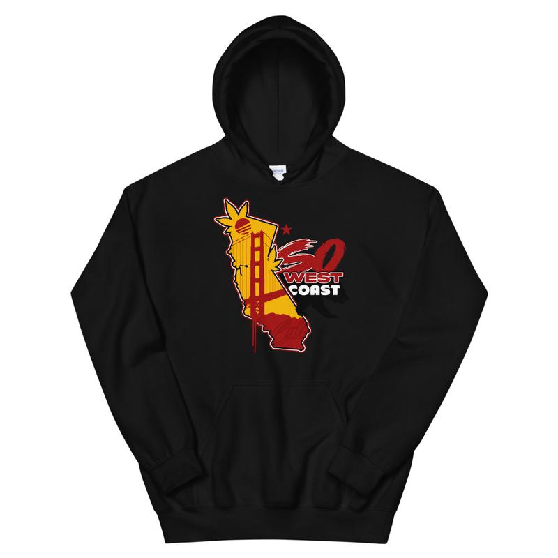 So West Coast Cali Bear Unisex Hoodie
