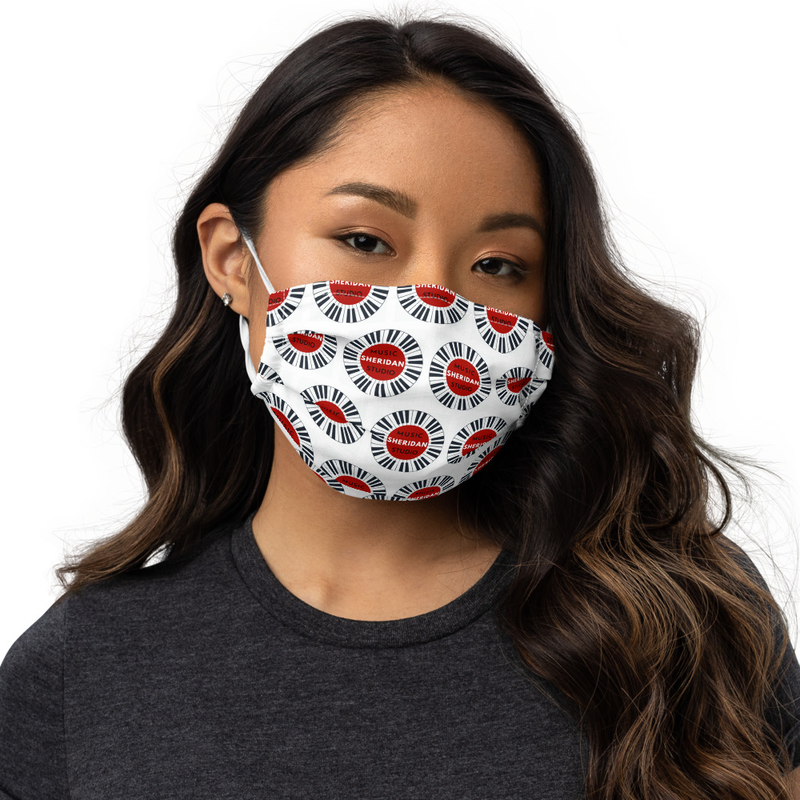 Sheridan Music Studio Premium face mask
