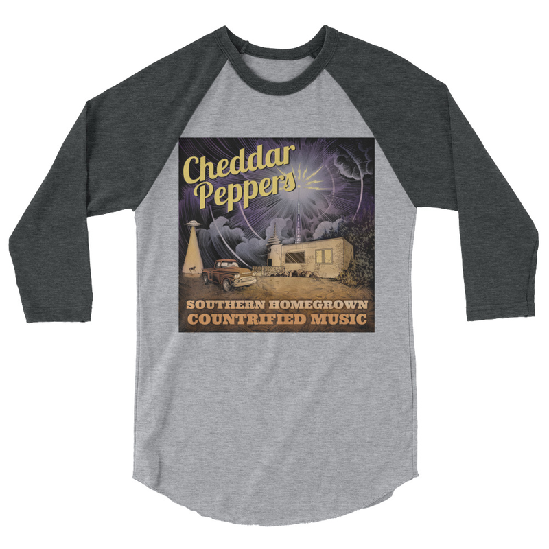 Cheddar Peppers 3/4 Sleeve Raglan Shirt
