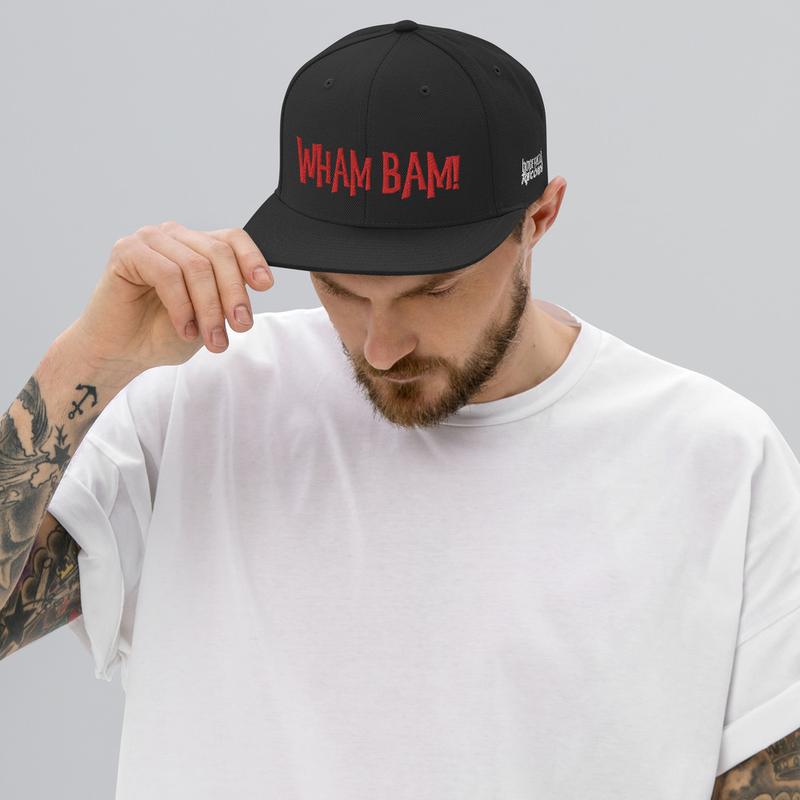 Snapback Hat - WHAM BAM!
