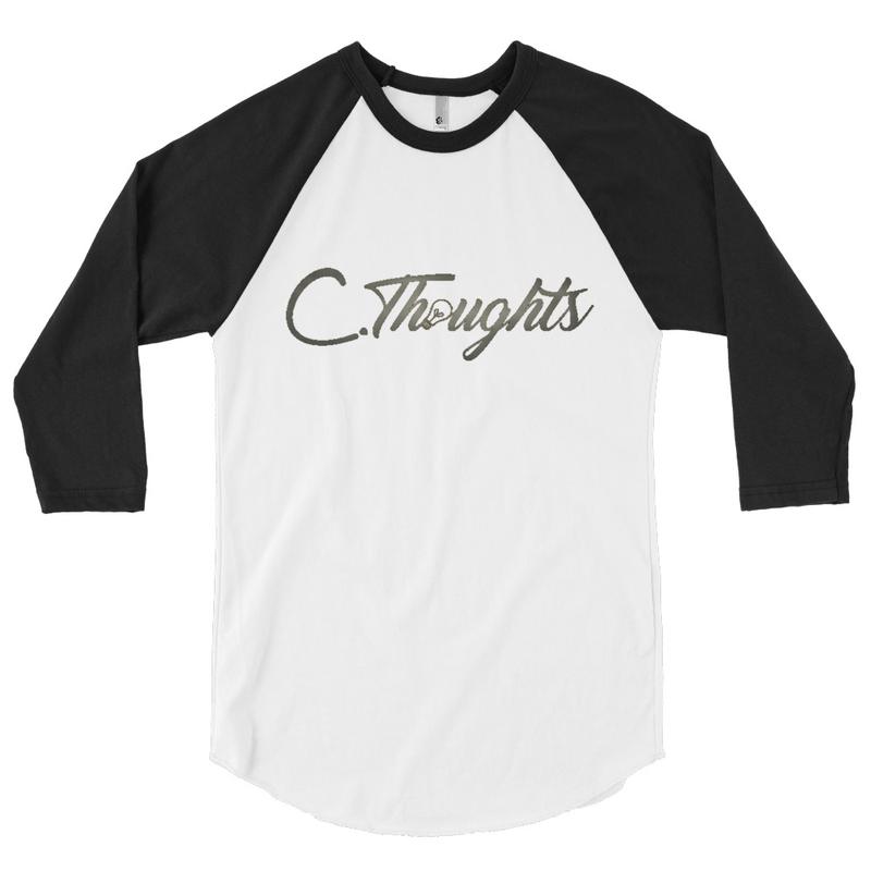 C.Thoughts Logo Baseball T-Shirt