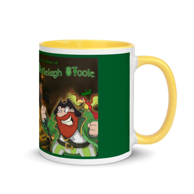 """Lesson of Shillelagh O'Toole """"Bedad!"""" Ceramic Mug"""