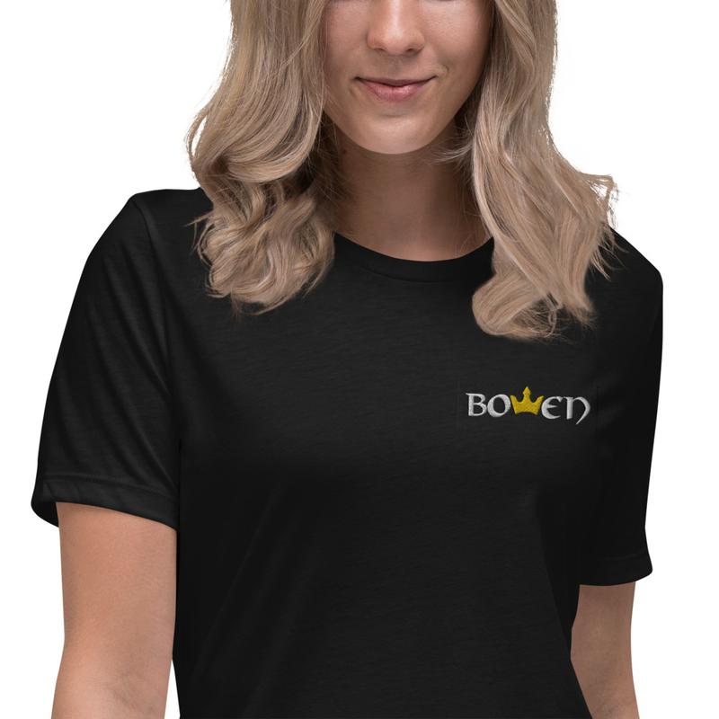 BOWEN Crown Women's Relaxed T-Shirt