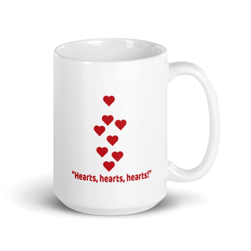 Mug - Hearts, hearts, hearts