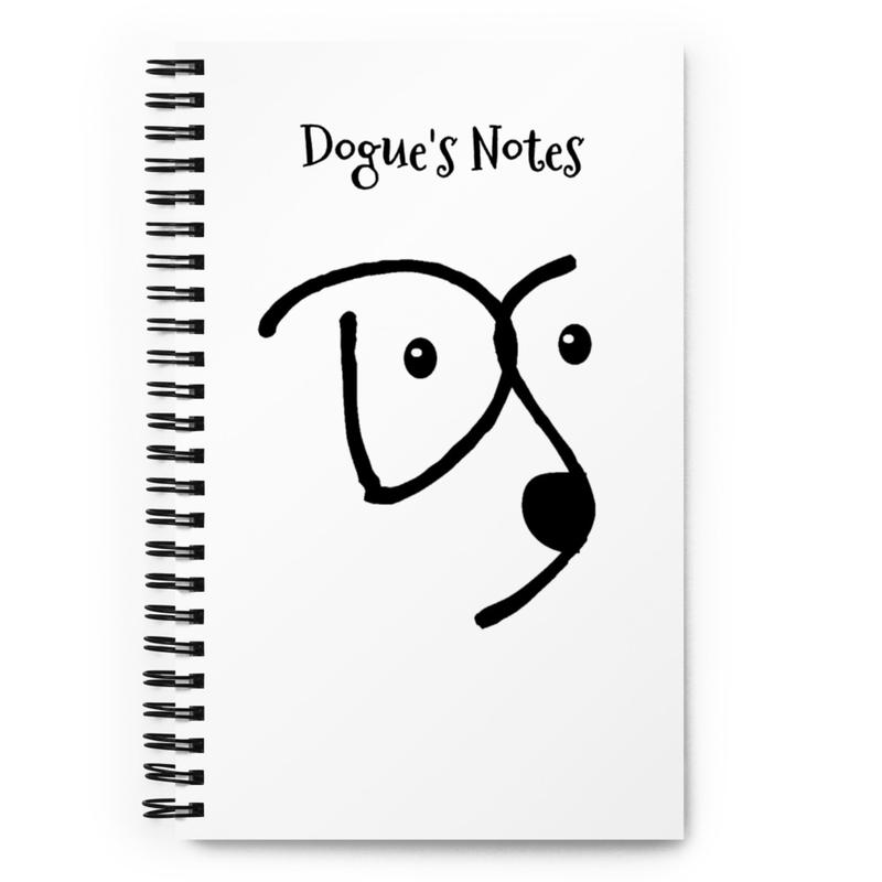 Dogue Shop notebook