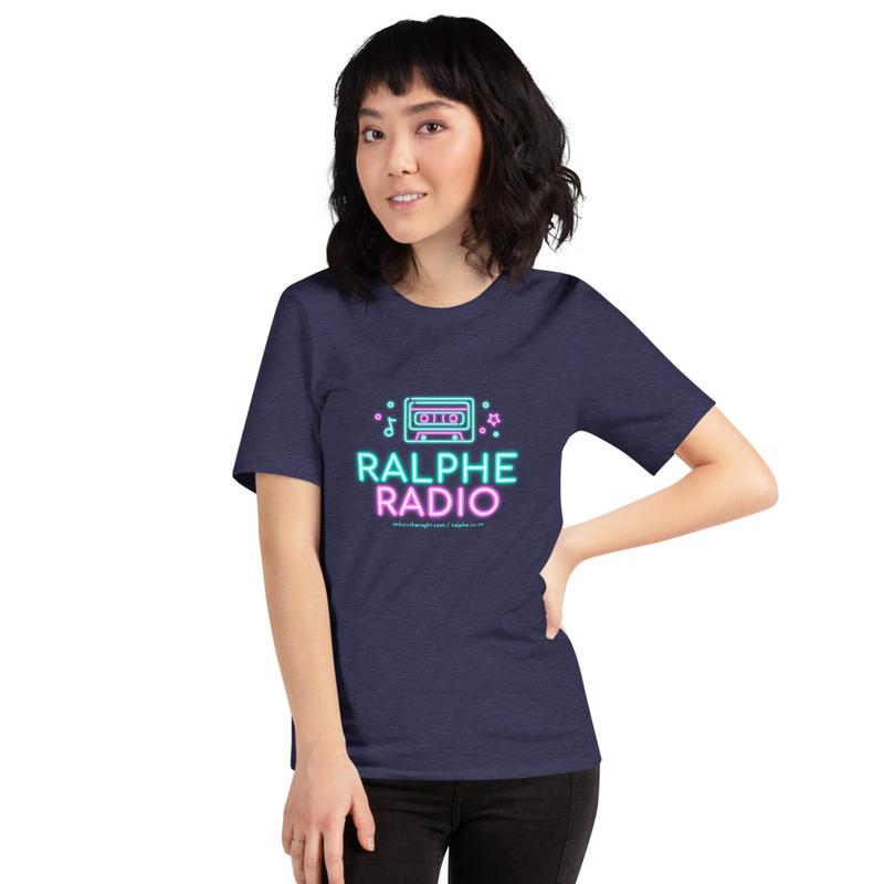 Ralphe Radio NeonSign Short-Sleeve Unisex T-Shirt