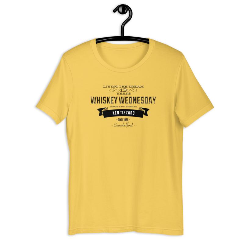 Whiskey Wednesday 13 Year Anniversary