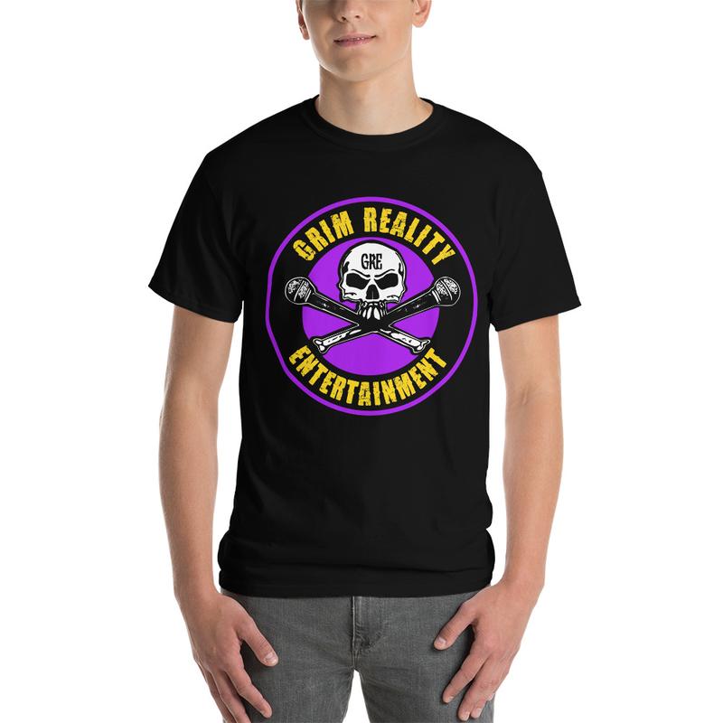 Men's Purple & Gold GRE Logo Shirt