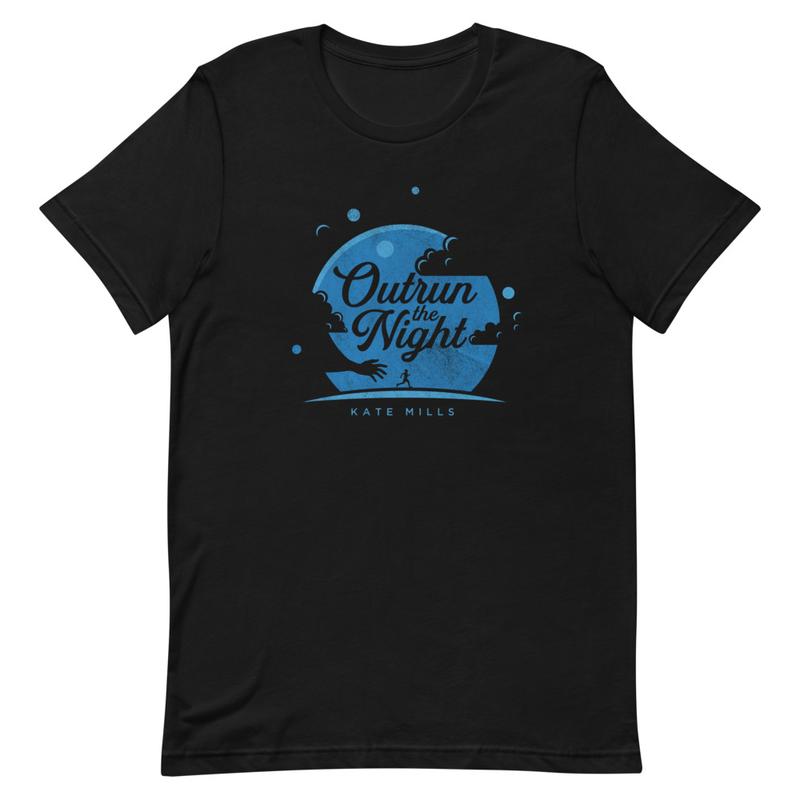"""Outrun the Night"" Short-Sleeve Unisex T-Shirt"