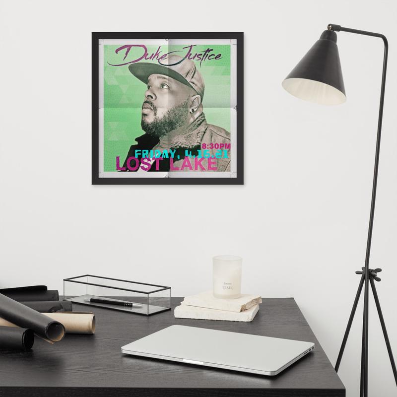 Framed Lost Lake Poster