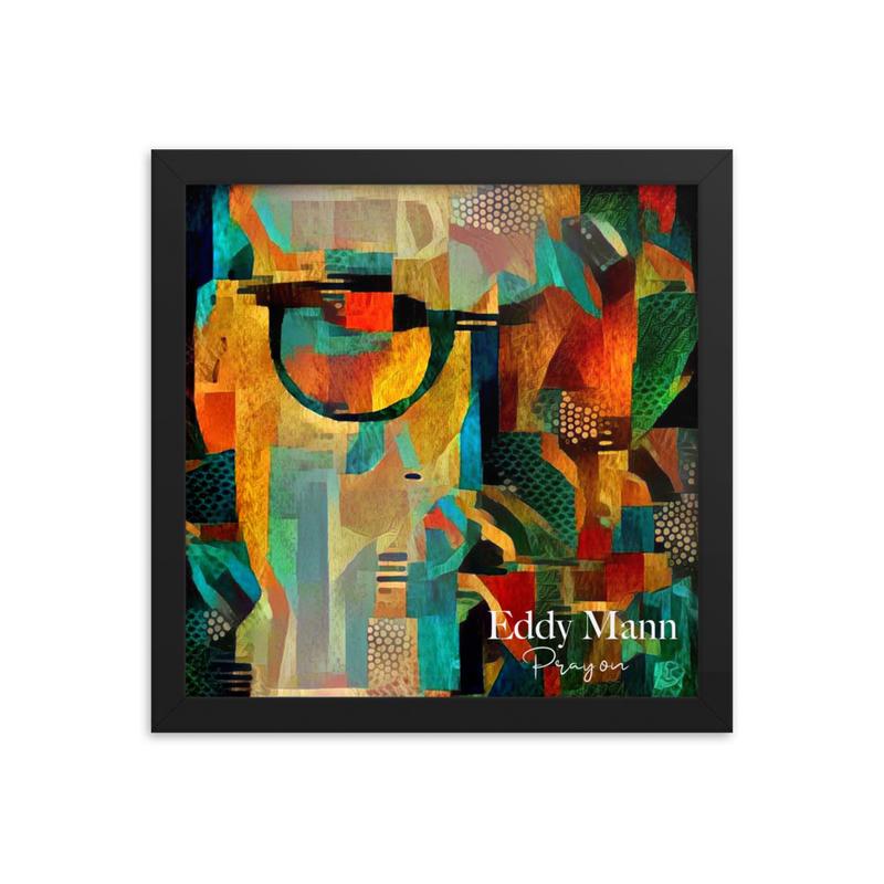 Framed poster - 'Pray On' Album Cover