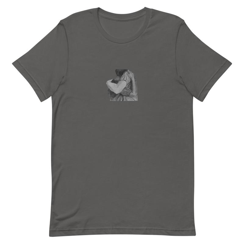 T-shirt: Tu Es Pardonné artwork