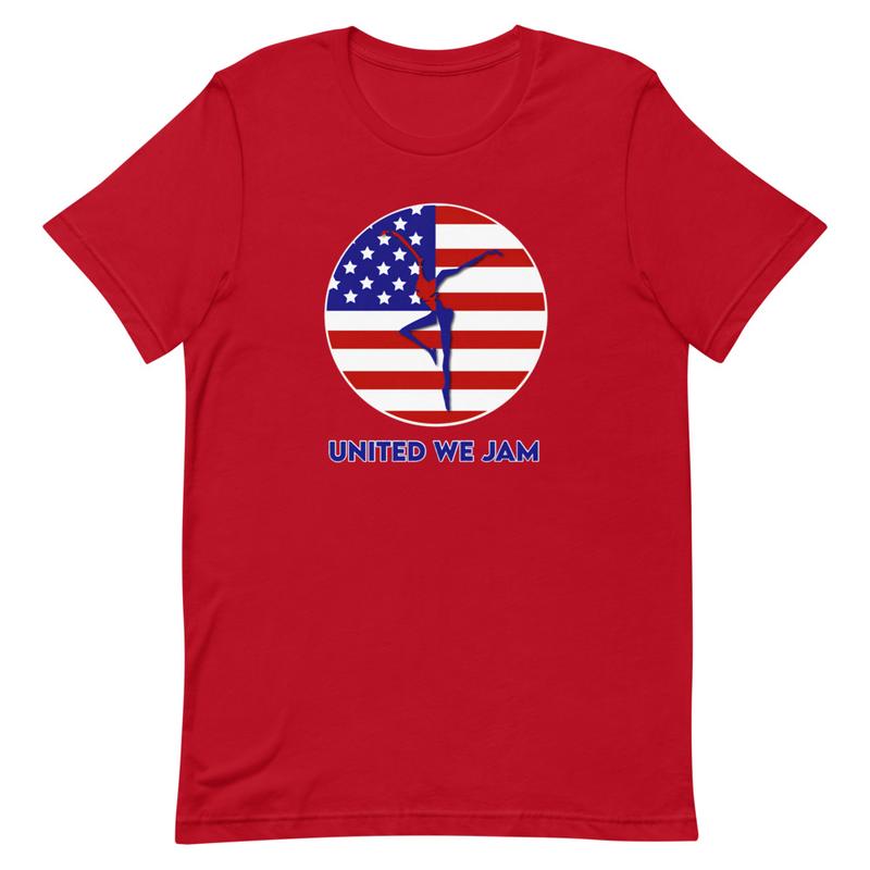 United We Jam Short-Sleeve Unisex T-Shirt