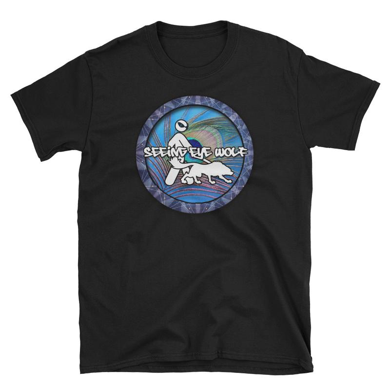Seeing Eye Wolf Short-Sleeve Unisex T-Shirt