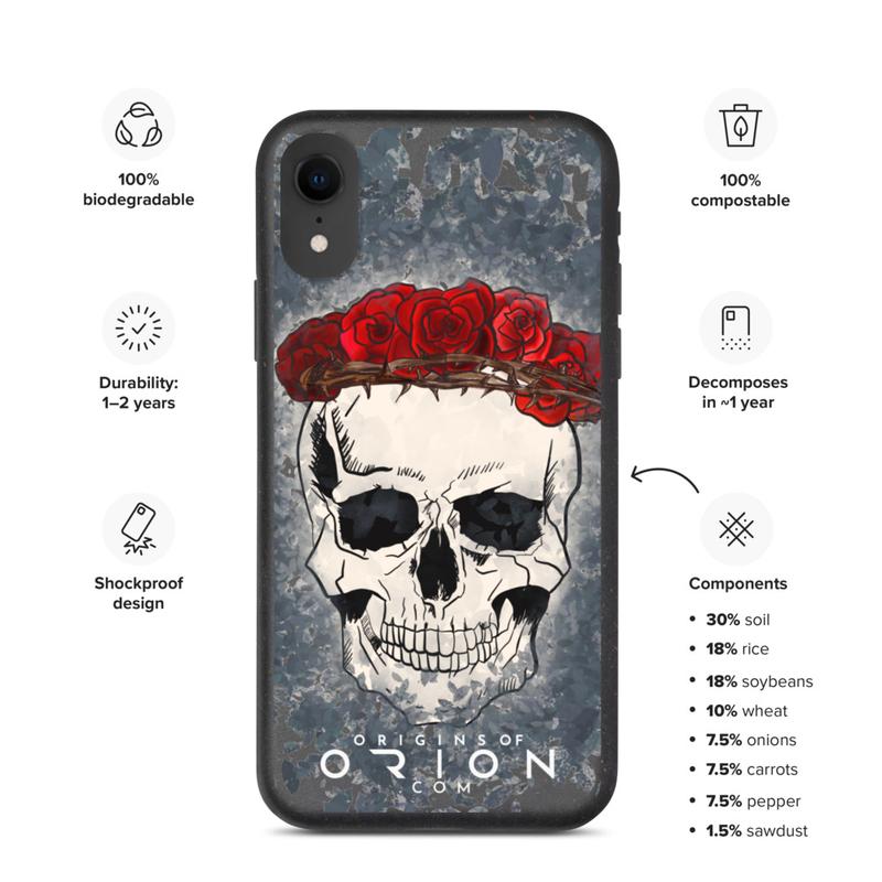 Thalia Gonzalez & Oirion Corona De Rosas Biodegradable phone case