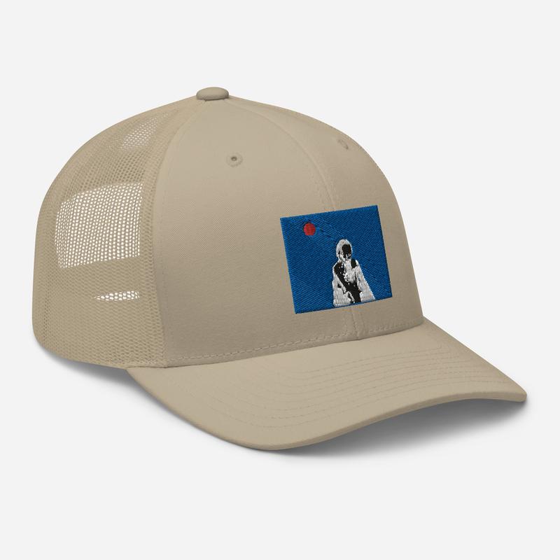 Trucker Cap (Will Phåråoh - sexsax Blue Sky)
