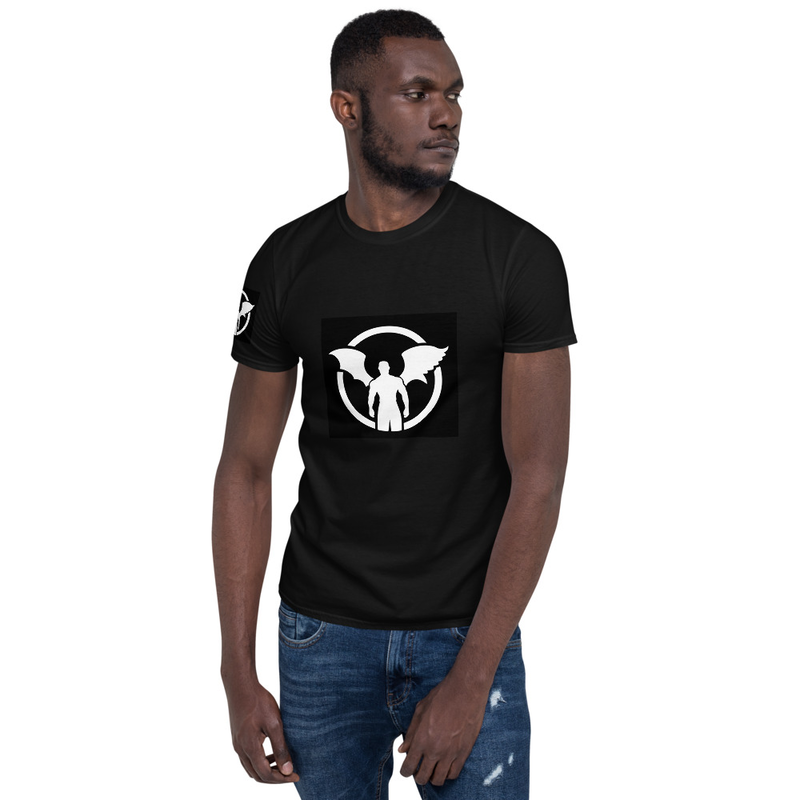 """TD"" Standing Man Logo Mens' T-shirt"
