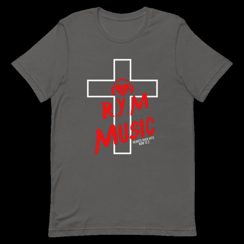 RYM Hearts Over Hits Unisex T-Shirt