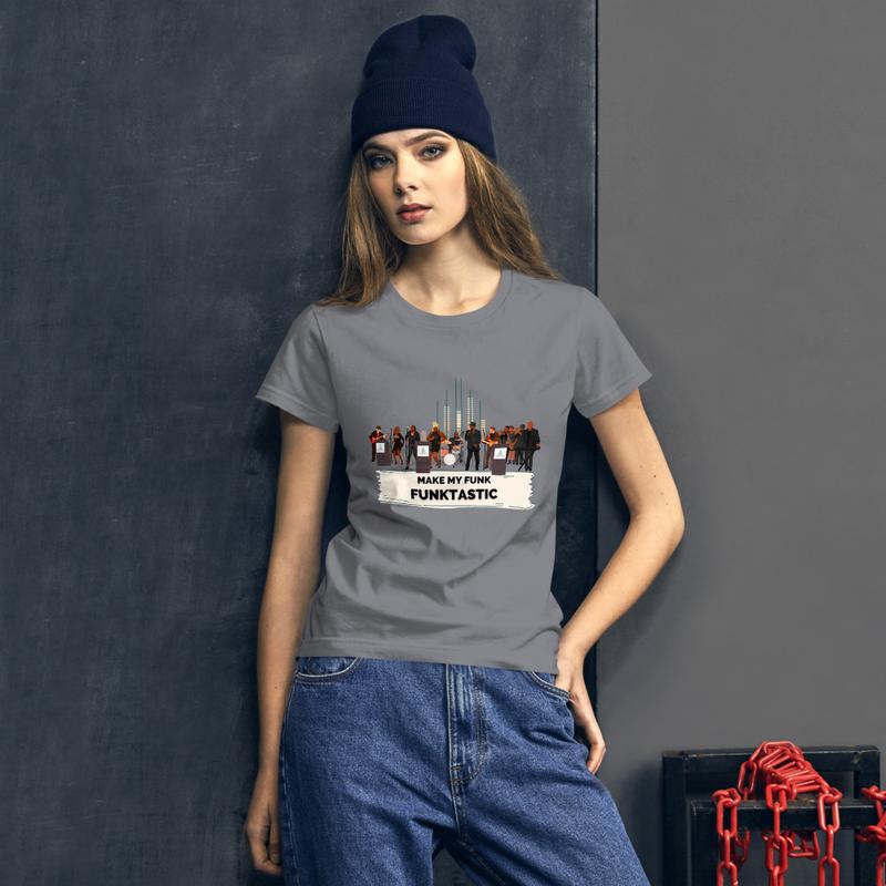 Women's short sleeve t-shirt - MAKE MY FUNK FUNKTASTIC