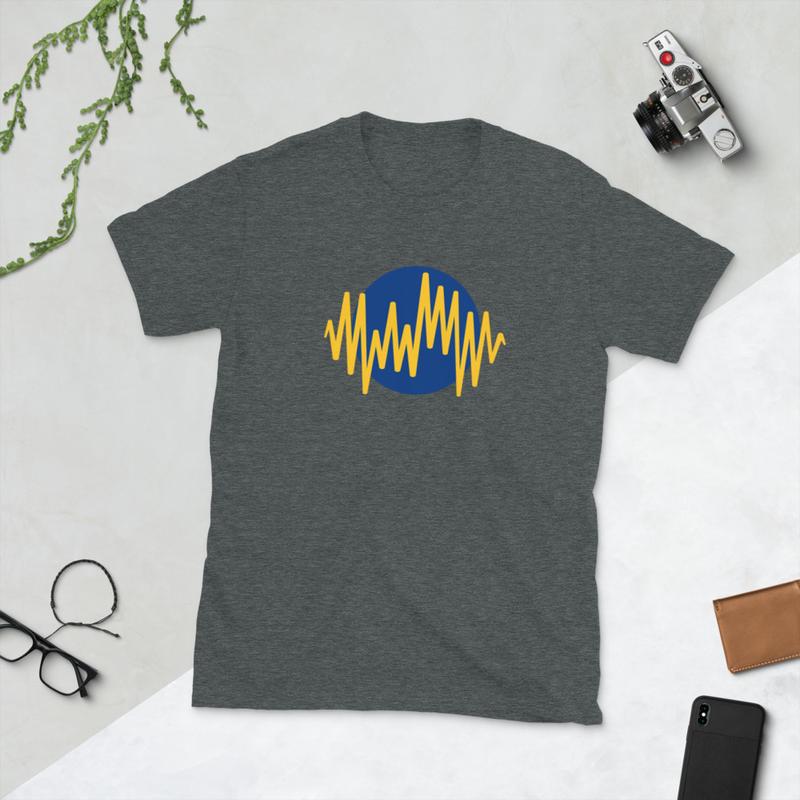 Audio Short-Sleeve Unisex T-Shirt