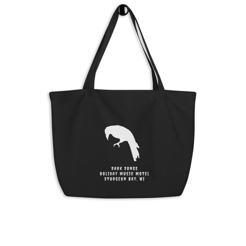 Dark Songs Large organic tote bag