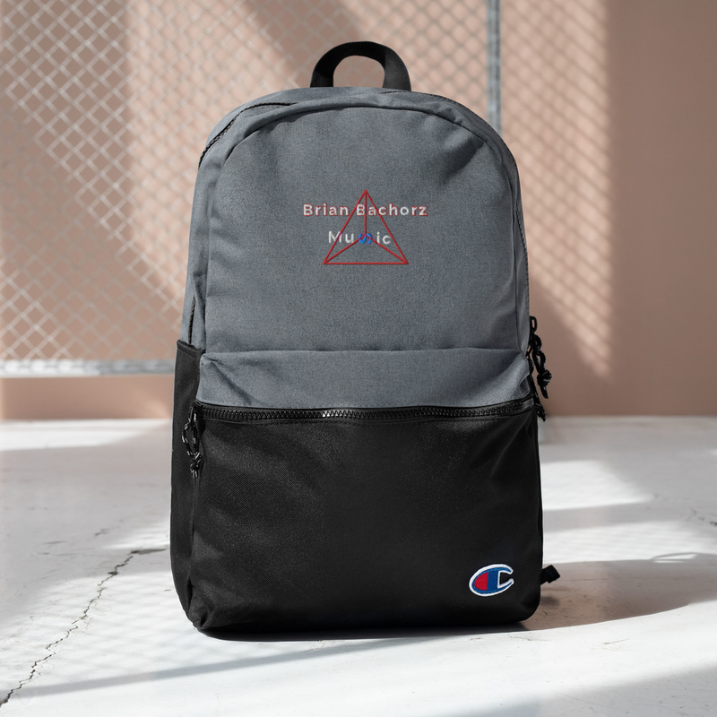 Brian Bachorz Music Embroidered Champion Backpack