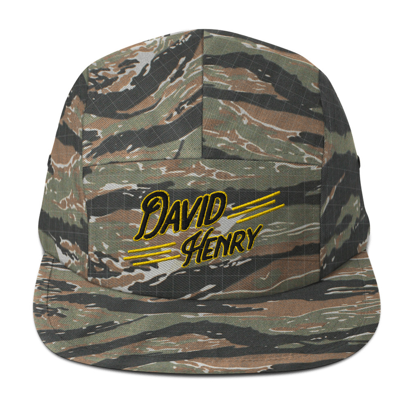 Five Panel Cap Embroidery