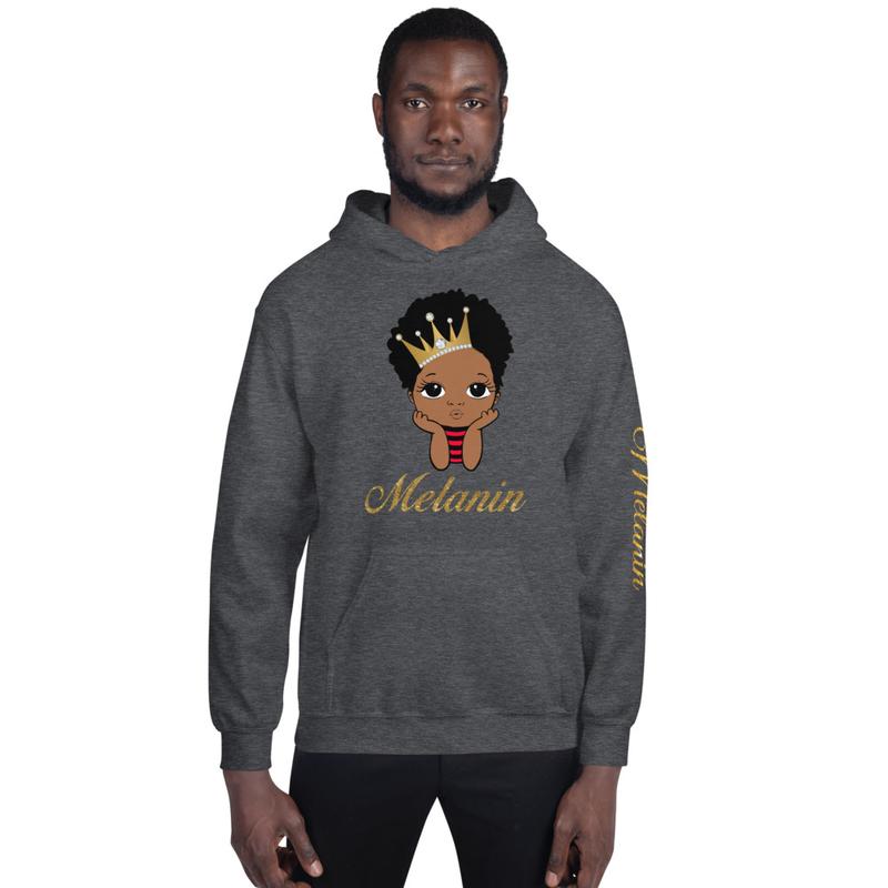Prince Melanin Unisex Hoodie