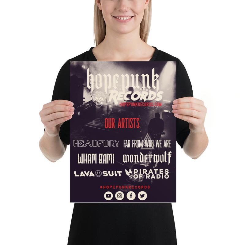 Poster - HopePunk Artists