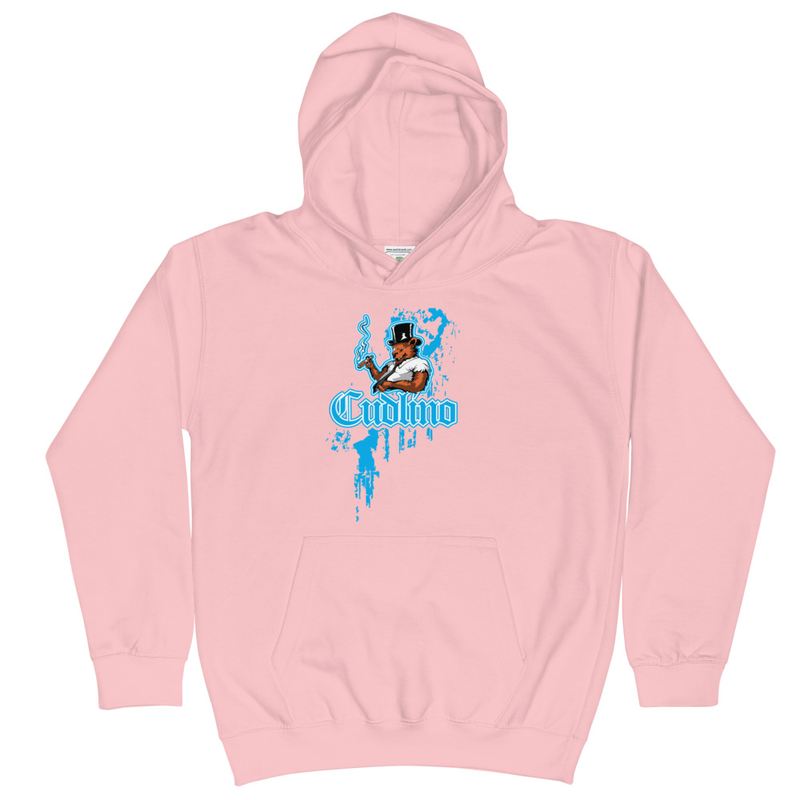 Cudlino Dripping Paint Logo - Kids Hoodie