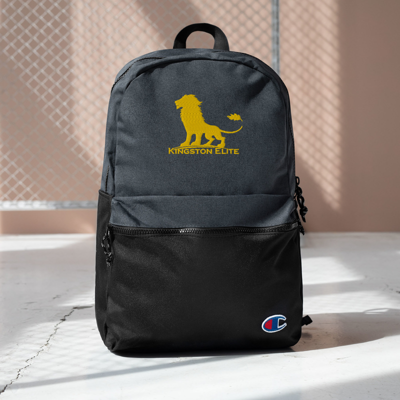 Embroidered Kingston Elite Champion Backpack