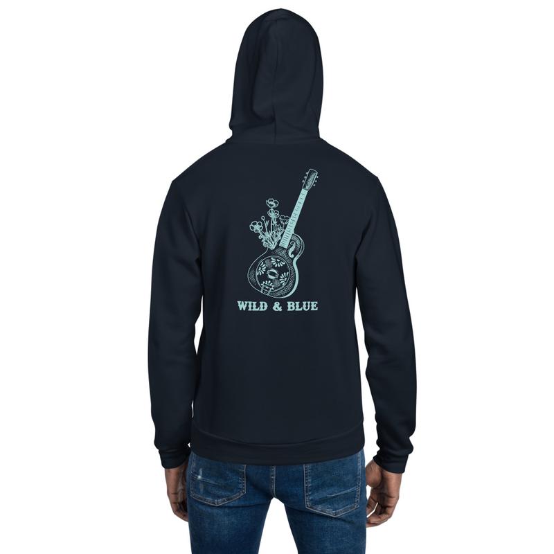 Wild & Blue - Guitar Hoodie
