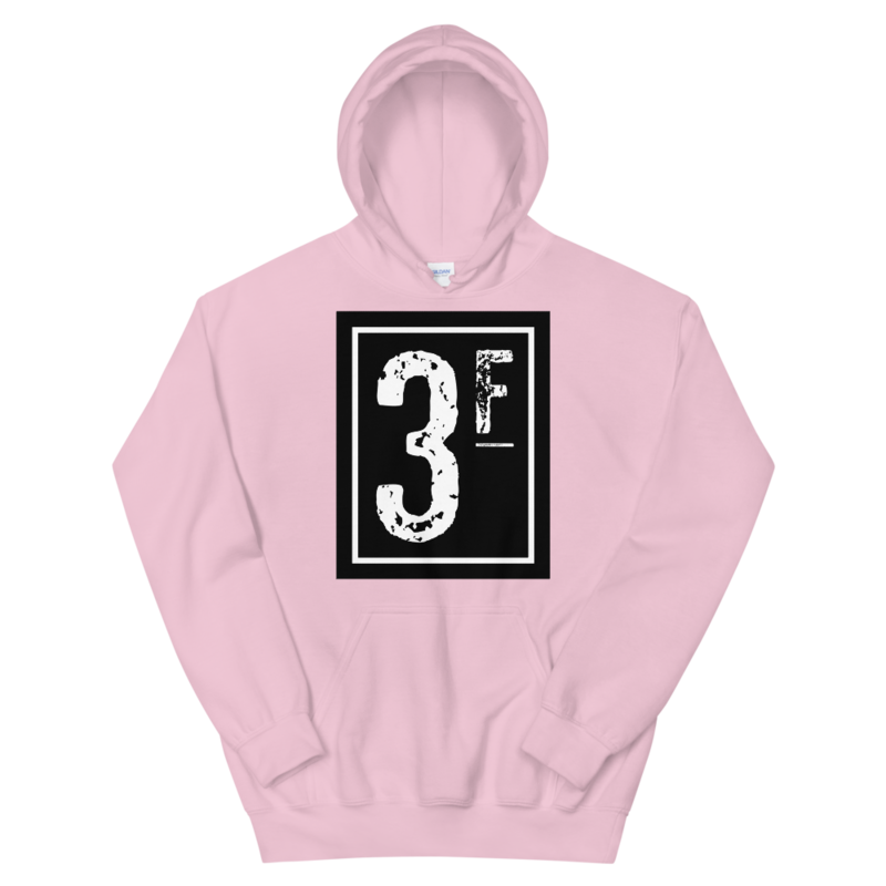 3Faces Hoodie | Solid | White Logo
