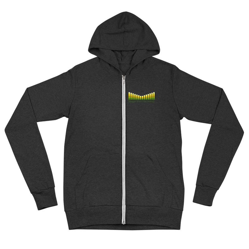 Deeper Vision Unisex zip hoodie