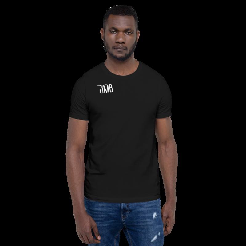 "JMB ""Wear Your Freedom Like a Crown"" Short-Sleeve Unisex T-Shirt (Black)"